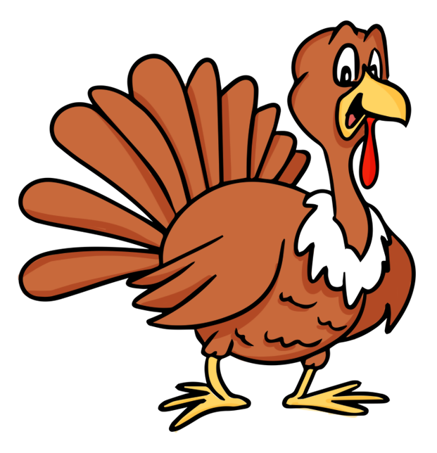Happy turkey clipart image black and white download Free Turkey Clip Art Pictures - Clipartix image black and white download