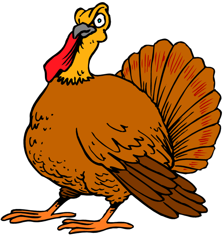 Turkey scene clipart png black and white Free Turkey Clipart png black and white