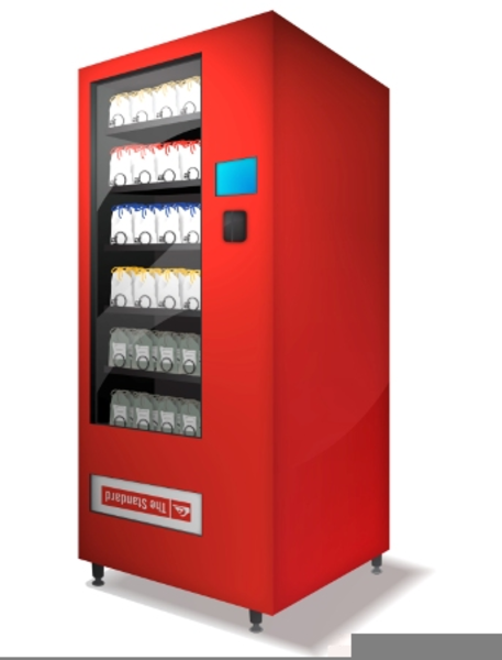 A vending machine clipart svg royalty free library Vending Machine Clipart Images   Free Images at Clker.com - vector ... svg royalty free library