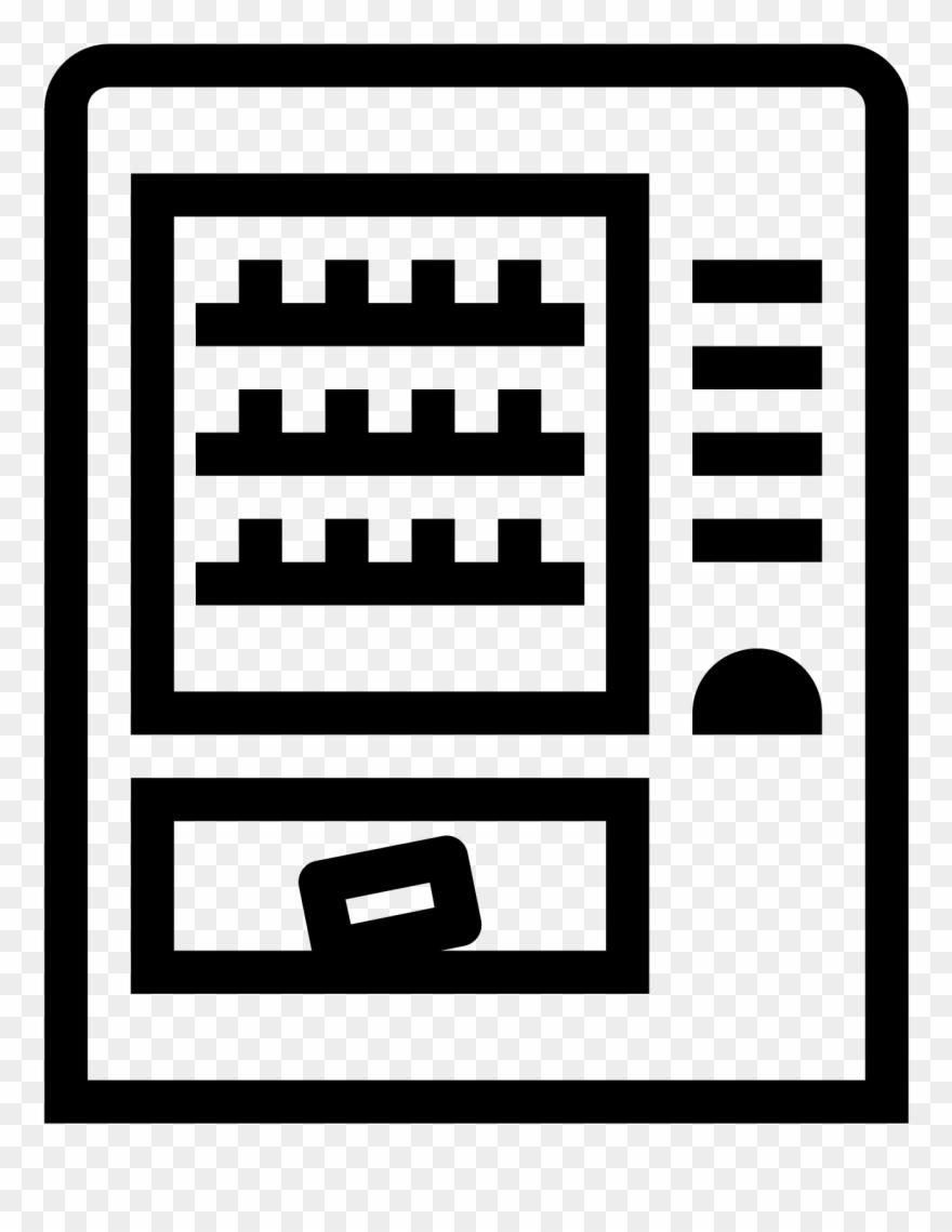 A vending machine clipart svg Vending Machine Icon - Service Vending Machines Icon Clipart ... svg