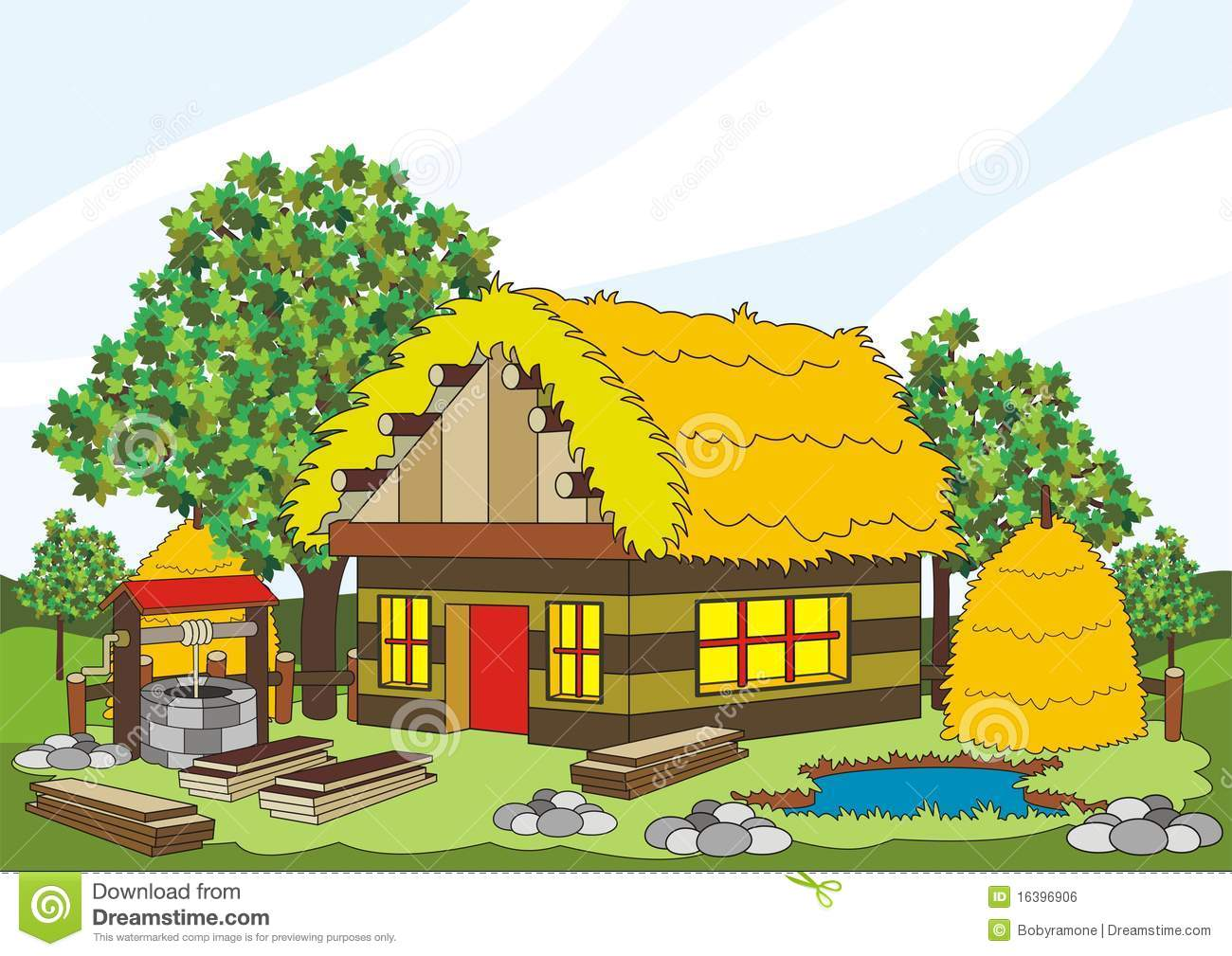 A village house clipart clipart free stock Village house clipart 7 » Clipart Station clipart free stock