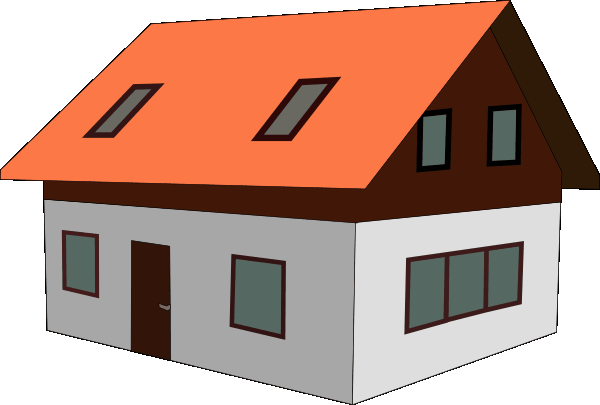 A village house clipart vector freeuse library Free Village House Cliparts, Download Free Clip Art, Free Clip Art ... vector freeuse library
