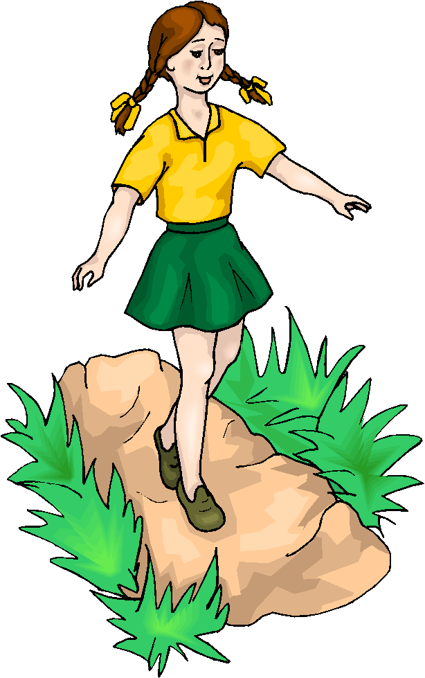 A walk in the park clipart clip free stock Girl Walk At The Park Free Microsoft clipart free image clip free stock