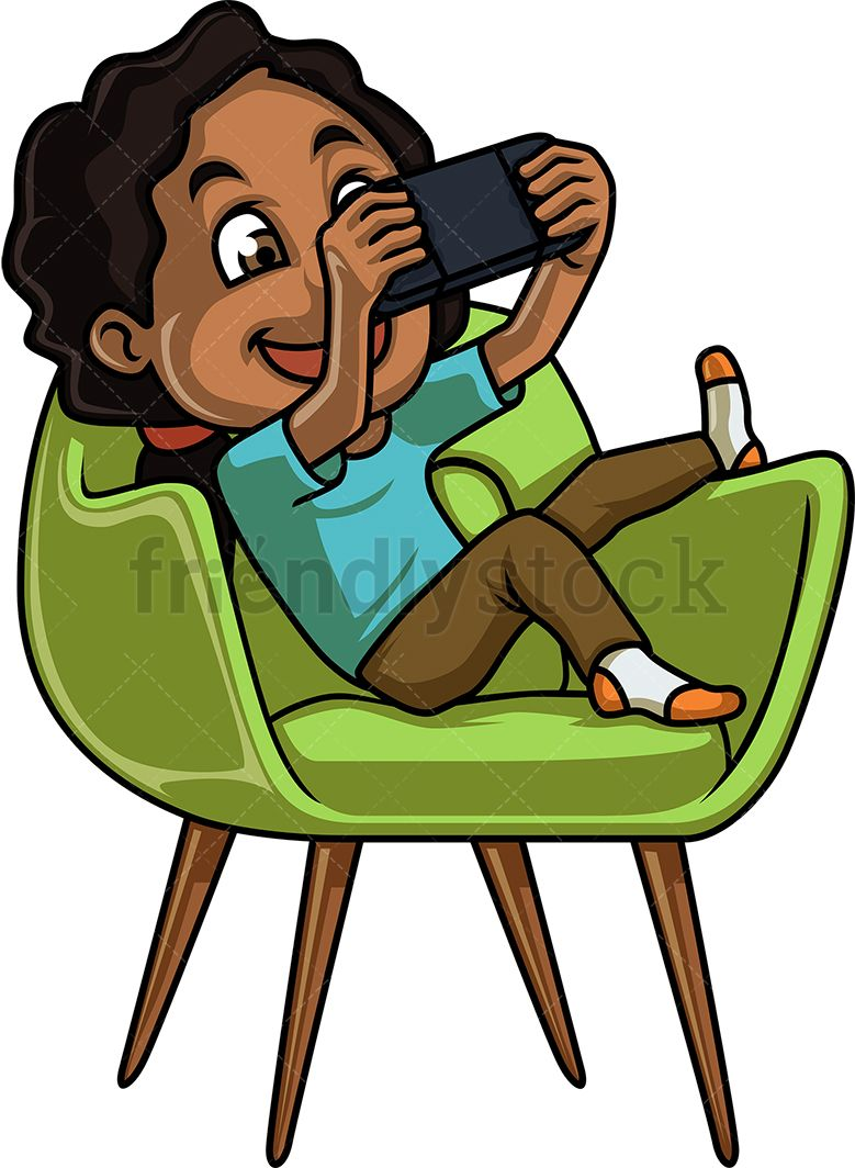 A wolf boy sitting on a chair clipart picture royalty free Clipart African American Boy Sitting On Chair & Free Clip Art Images ... picture royalty free