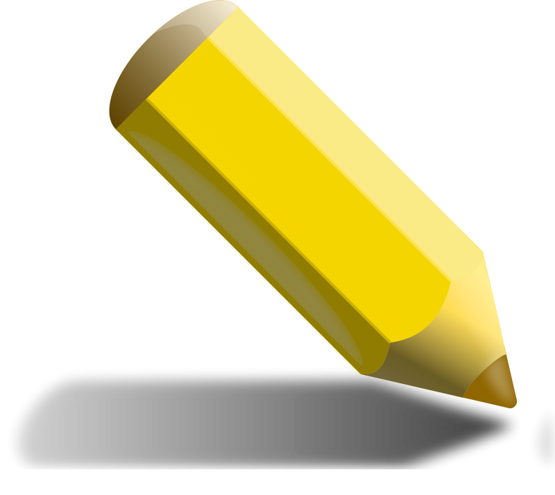 A yellow pencil clipart vector freeuse library Free Clipart: Yellow Pencil | binameusl vector freeuse library