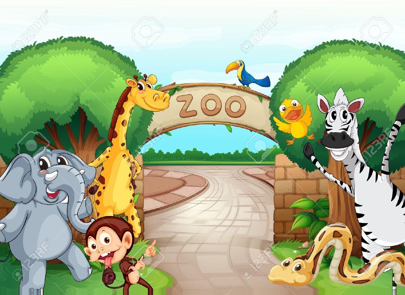 A zoo clipart