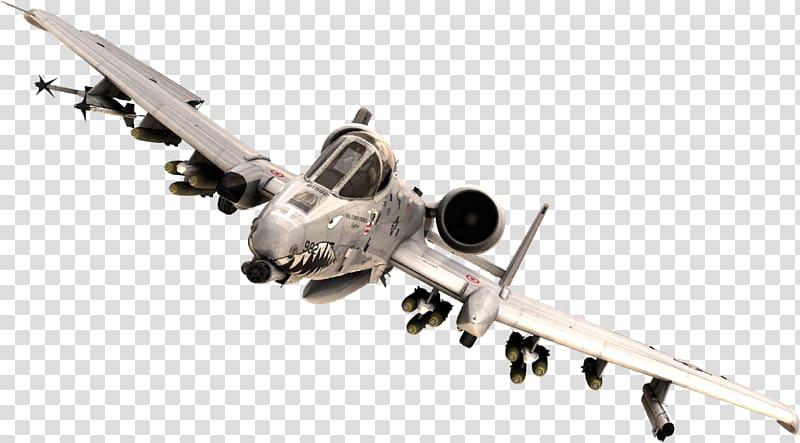 Military aircraft Airplane Fairchild Republic A-10 Thunderbolt II ... clip library stock