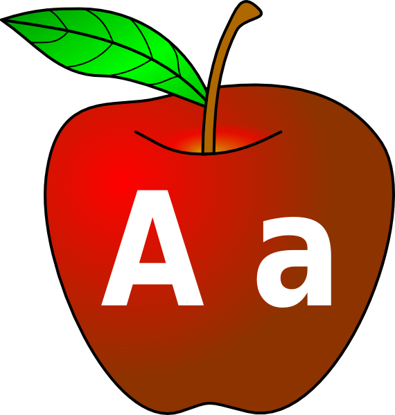 Aa apple clipart clipart download Apple With A A Clip Art at Clker.com - vector clip art online ... clipart download