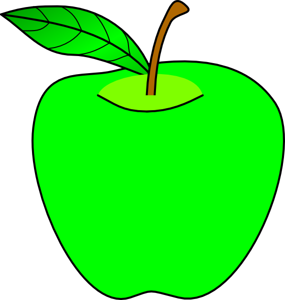 Colored apple silhouette clipart vector free download Apple Clipart at GetDrawings.com | Free for personal use Apple ... vector free download