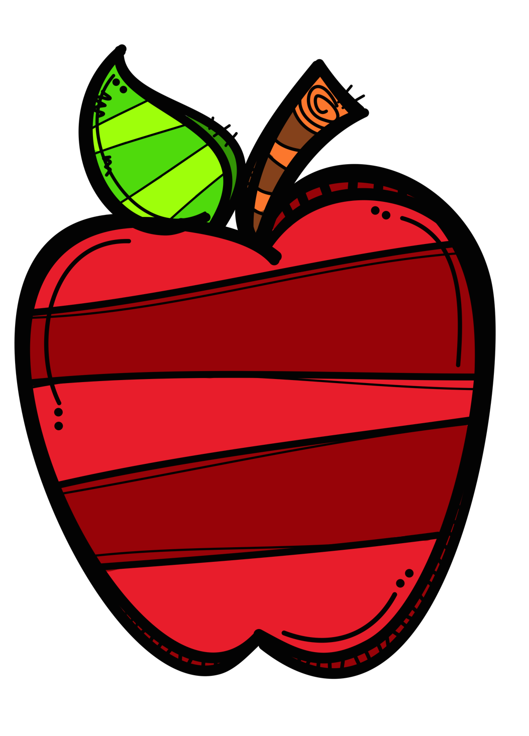 Back to school apple clipart svg free download Pin by Kathleen Cummings on Art Ideas | Pinterest | Apples, Clip art ... svg free download