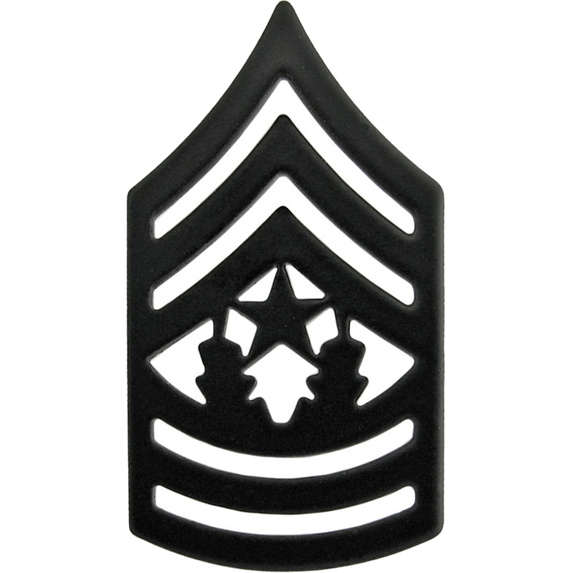 Army Csm Subdued Pin-on Rank | Subdued Pin-on Rank | Military | Shop ... clipart free