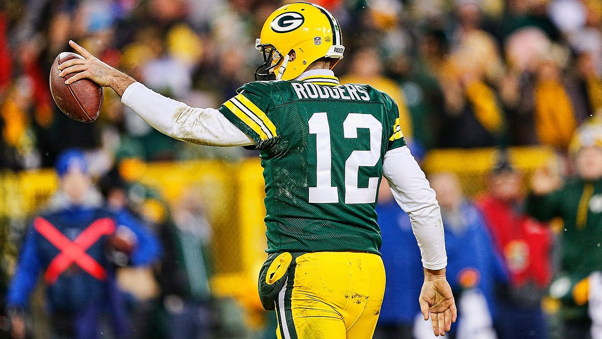 Is Aaron Rodgers Still The Best Quarterback In The NFL? clipart stock