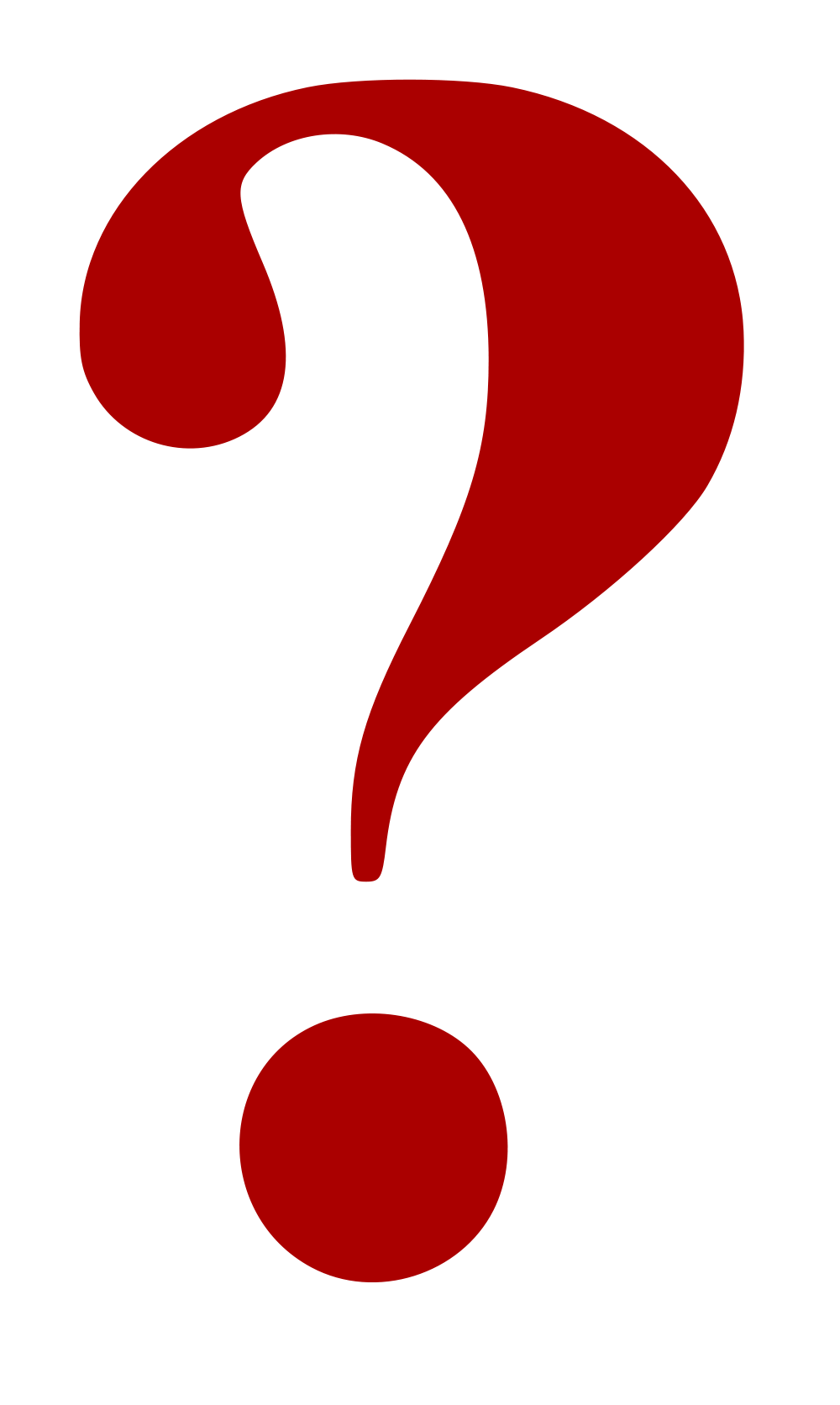 Clipart question marks