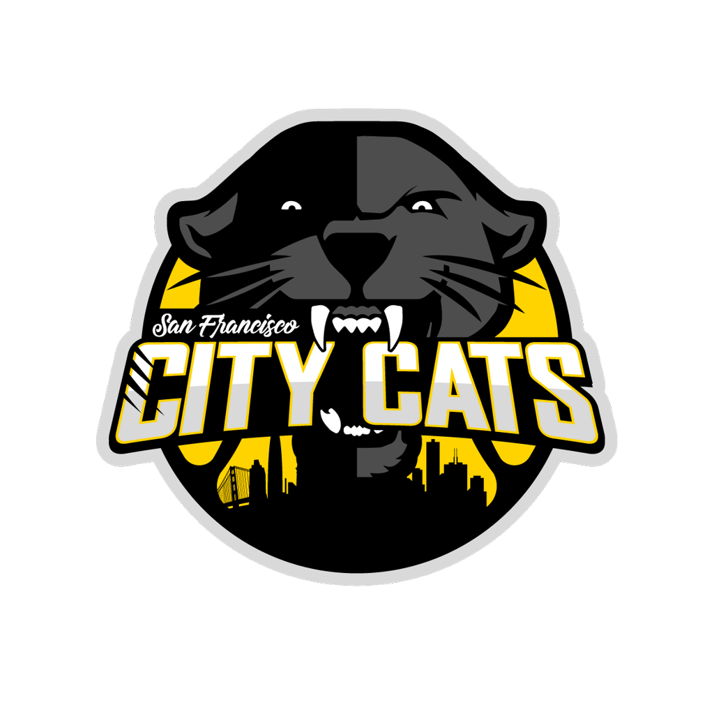 Aba basketball clipart clipart royalty free stock San Francisco City Cats clipart royalty free stock