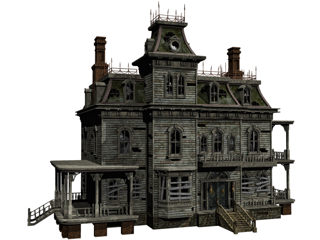 Abandoned house clipart graphic transparent library Haunted Mansion PNG Transparent Haunted Mansion.PNG Images. | PlusPNG graphic transparent library