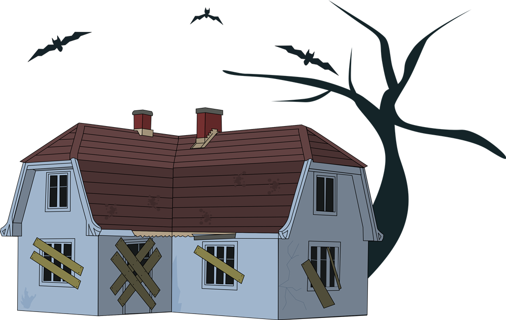 Abandon house clipart banner freeuse download 28+ Collection of Creepy House Clipart | High quality, free cliparts ... banner freeuse download