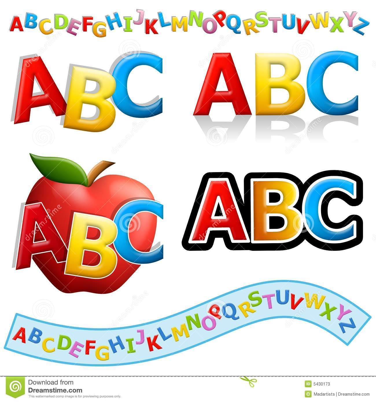 Abc 123 clipart free graphic royalty free stock Cliparts abc - ClipartFest graphic royalty free stock