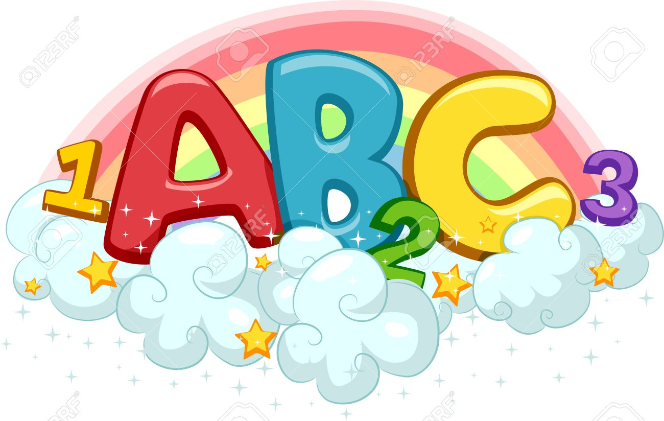 Abc 123 clipart free svg transparent library Abc 123 clipart free - ClipartFest svg transparent library