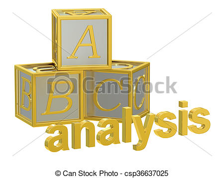 Abc analysis clipart
