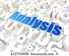 Illustrations and royalty marketing. Abc analysis clipart