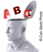Abc analysis clipart. And stock illustrations concept