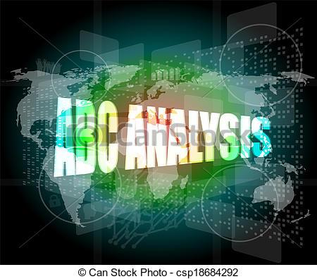 Abc analysis clipart. Clipartfest words on digital