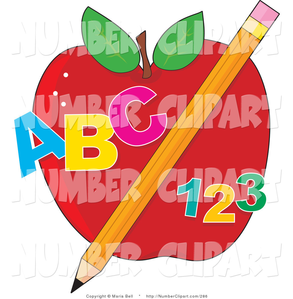 Clipartfest clip art of. Abc and number clipart