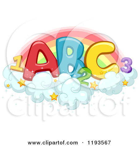Royalty free rf of. Abc and number clipart