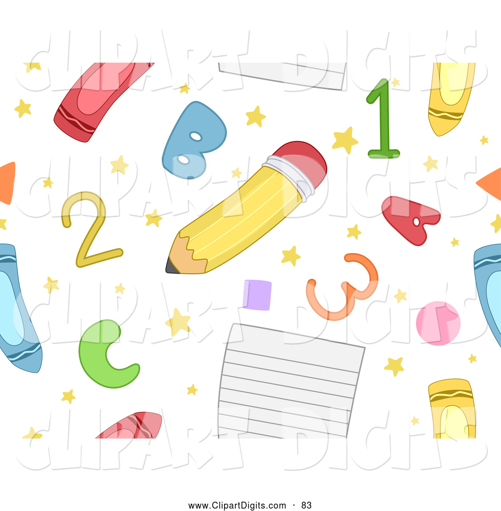 Abc and number clipart vector stock Royalty Free Letter Stock Number Designs vector stock