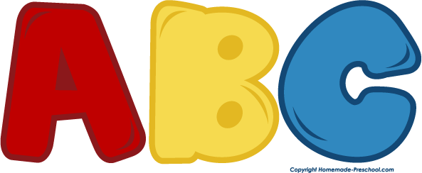 Abc and number clipart. School kid home free