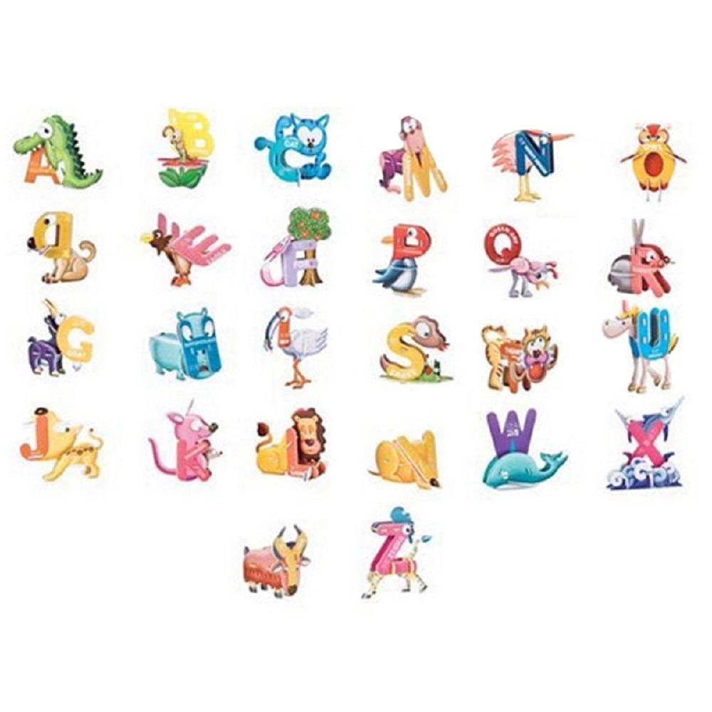 letter d puzzle. Abc animal clipart