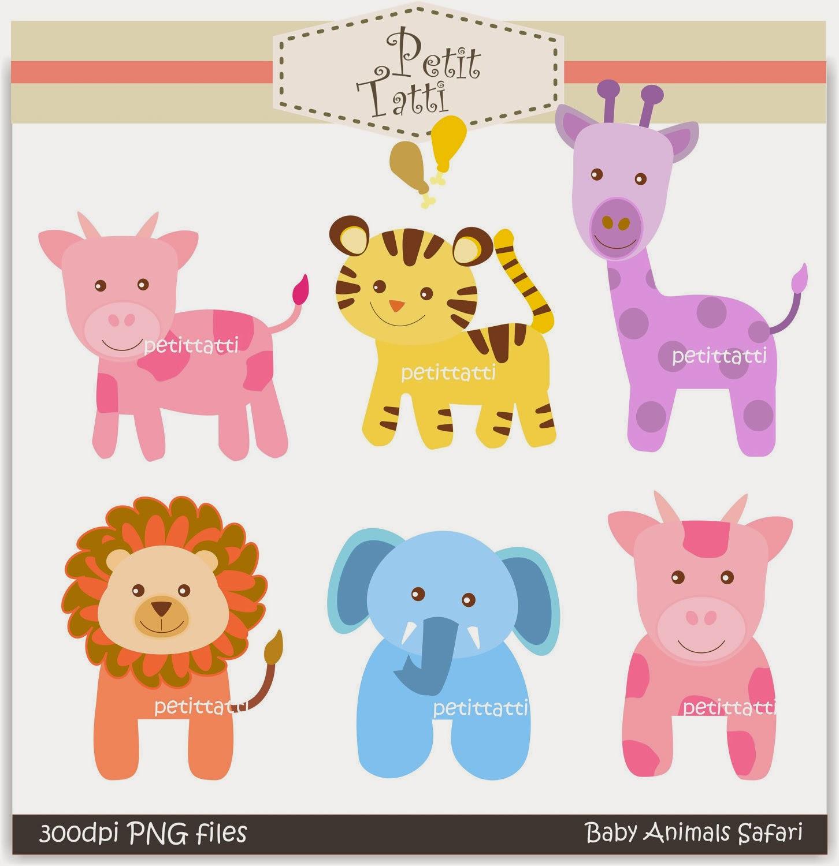 Abc animal clipart. Clipartfest baby animals