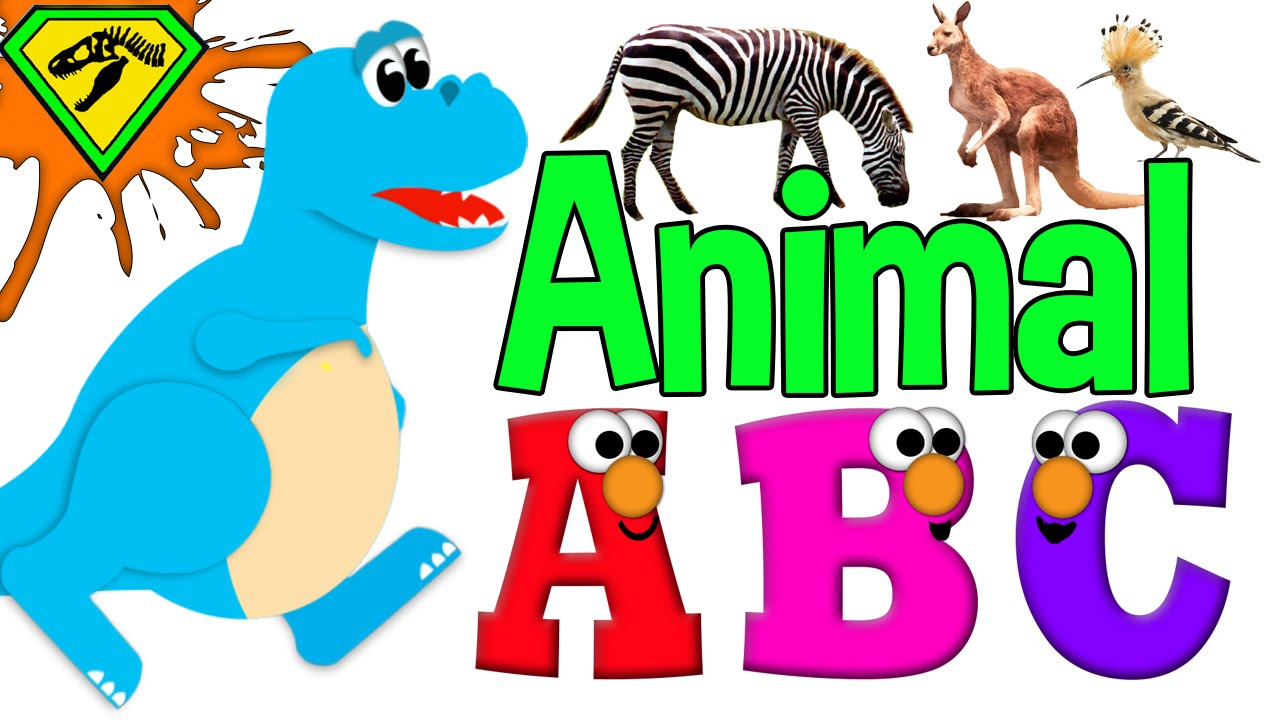 Abc animal clipart banner black and white library Animal Alphabet ABC | Animal Alphabet for Kids | ABC Alphabet ... banner black and white library