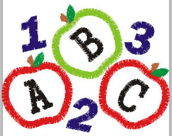 Clipartfest and . Abc apple clipart