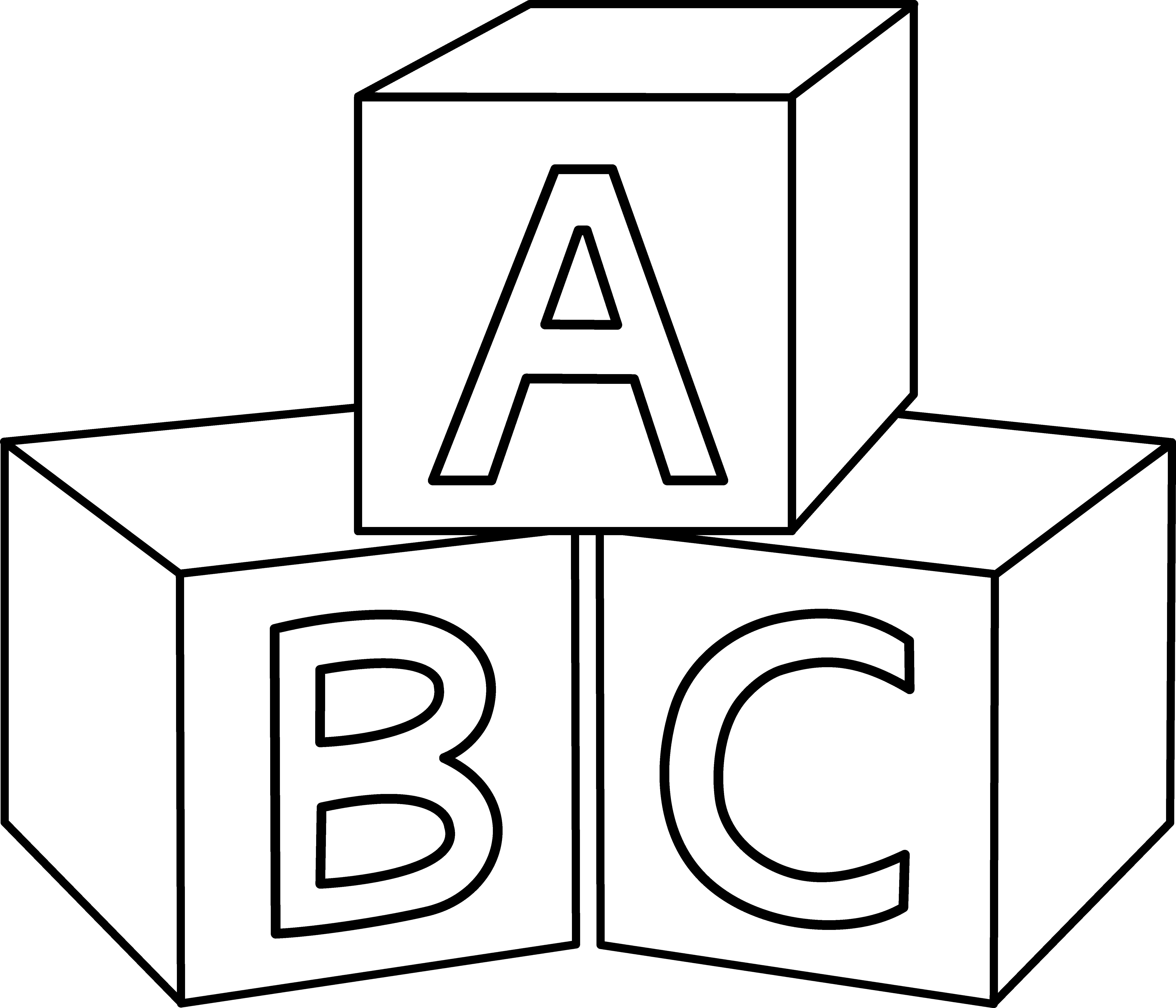 ABC Blocks Design | mirror image transfer | Alphabet blocks, Baby ... graphic transparent stock