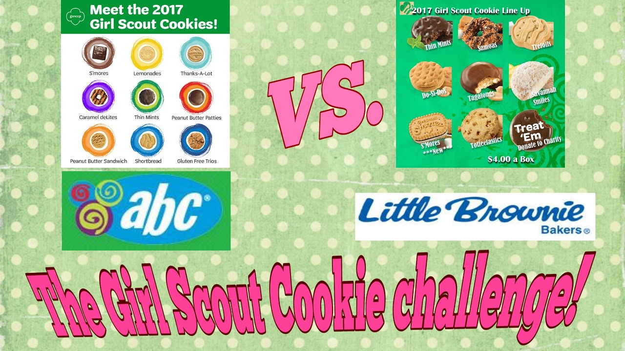 Abc bakers cookie clipart clipart library stock Why are Girl Scout Cookies Different ABC Bakers vs Little Brownie Bakers  Who makes the best cookies? clipart library stock
