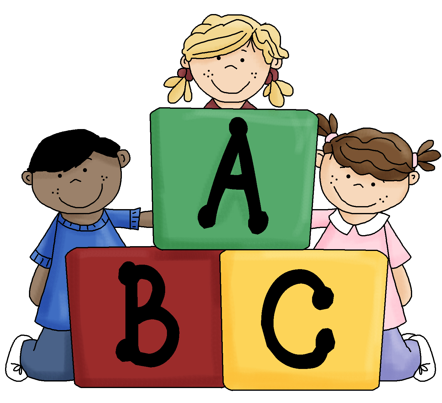 Blocks kid galleries related. Abc block clipart