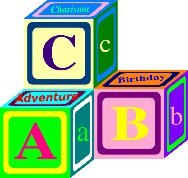 Abc Blocks Clip Art - Cliparts and Others Art Inspiration jpg royalty free stock