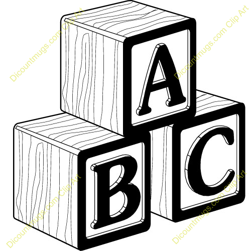 Abc block clipart picture library stock Abc Blocks Clipart - Clipart Kid picture library stock