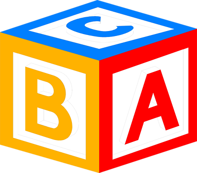 Abc block clipart. Letters clipartfest blocks