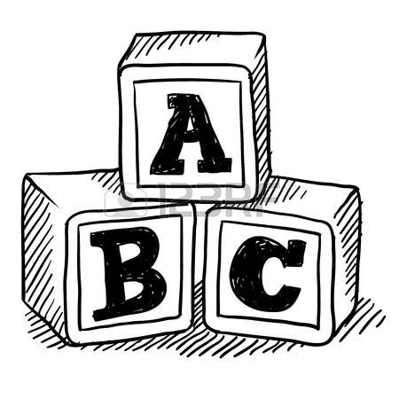 4,926 Abc Blocks Cliparts, Stock Vector And Royalty Free Abc ... transparent