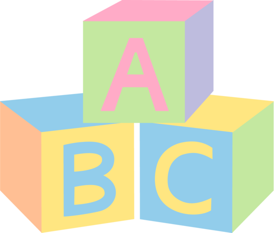 Abc blocks free clipart. Download clip art on