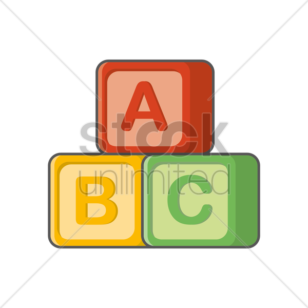Alphabet blocks clip art vector free Abc Blocks Clipart at GetDrawings.com | Free for personal use Abc ... vector free
