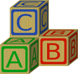 Abc blocks free clipart. Clip art at clker