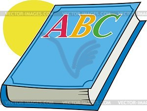 Abc book clipart - ClipartFest svg black and white download