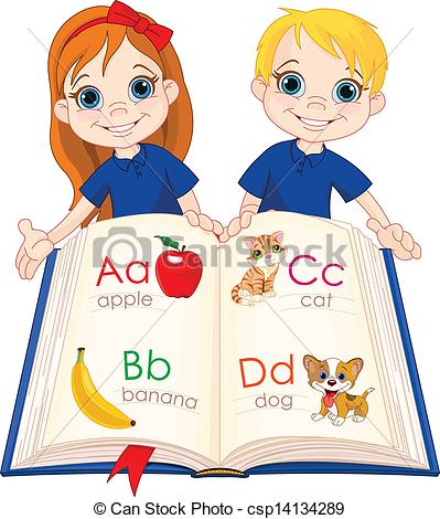 Abc book Vector Clipart Illustrations. 6,330 Abc book clip art ... banner freeuse stock