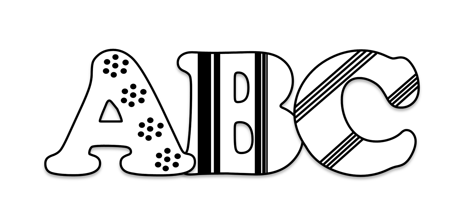 My abc book clipart clip free Image Of Coloring Book Abc Blocks | colorimage.website clip free