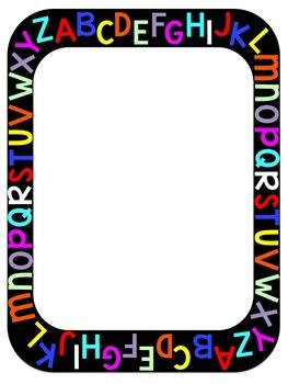 Clip art free best. Abc border clipart