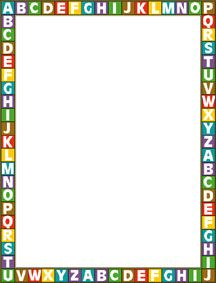 Kid best. Abc border clipart