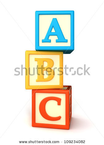Abc Building Blocks Stock Photos, Royalty-Free Images & Vectors ... png freeuse library